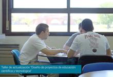 """""""Diseño de proyectos de educación científica y tecnológica"""""""
