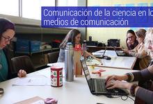 """Taller """"Comunicación de la ciencia en medios """", modalidad virtual"""
