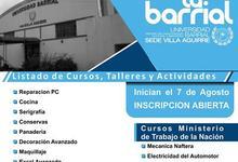 Universidad Barrial inscribe en cursos y talleres