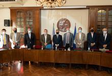 Destacan acuerdo entre UNS y UNICEN en materia de logística