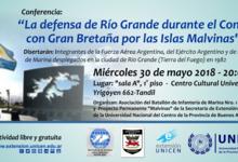 Conferencia sobre la defensa de Río Grande en guerra de Malvinas