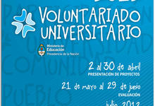 Convocatoria del Programa de Voluntariado Universitario