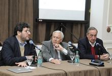 Nación firma acuerdo con UNICEN y Municipio por Teatro Cervantes