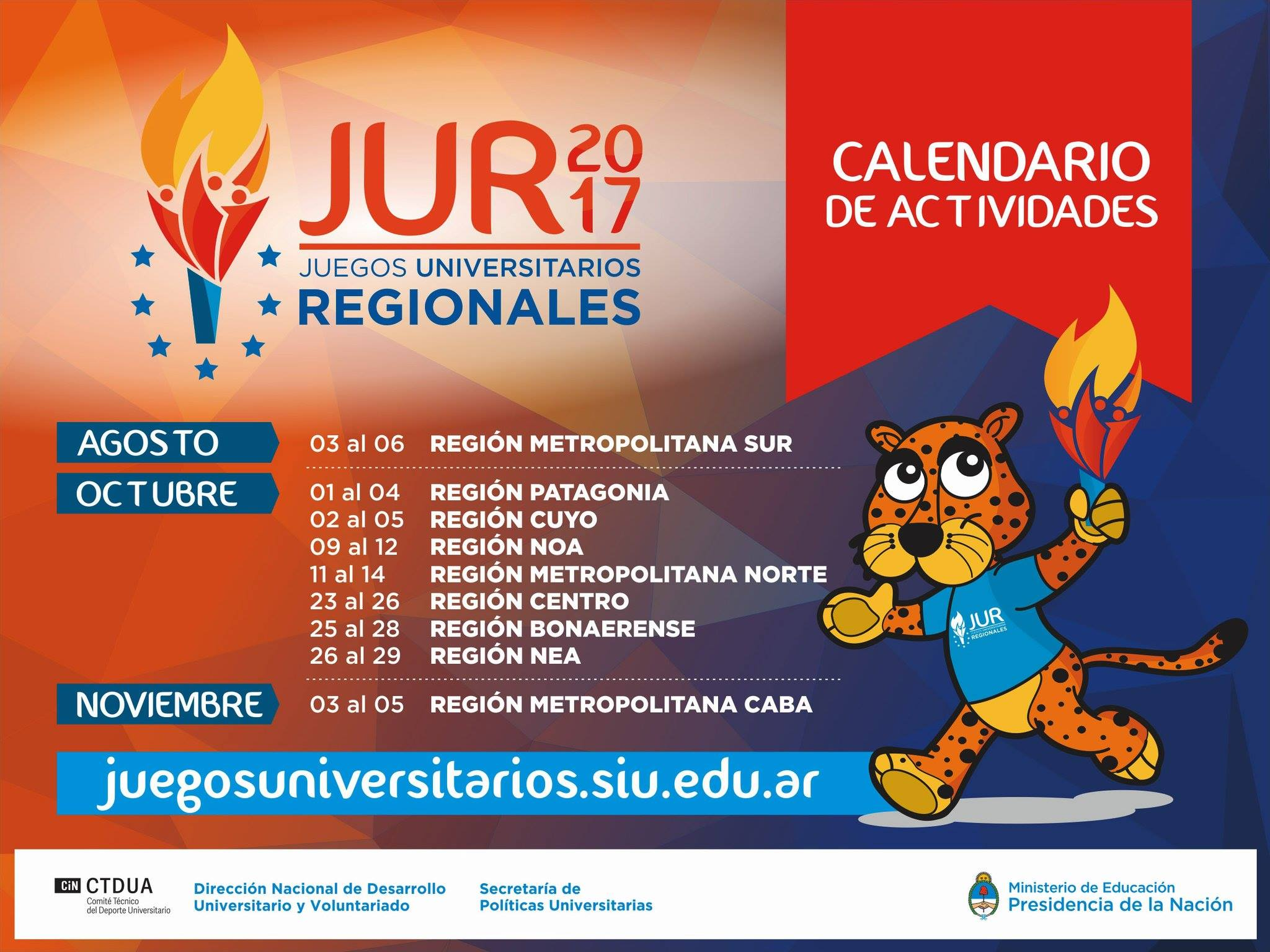 Unicen Con 150 Deportistas En Los Juegos Universitarios Nacionales